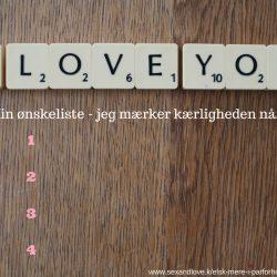 Jeg mærker kærligheden når